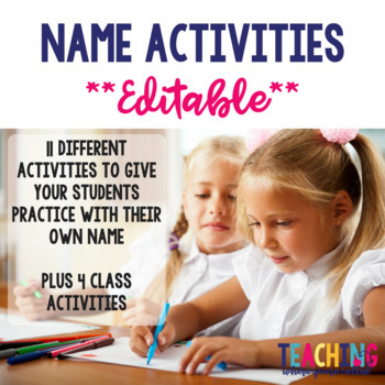 Editable Name Activities