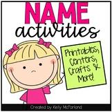 Name Activities {Editable}