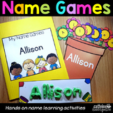 Name Activities Editable Name Games - Back to School Activities