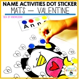 Name Activities Editable - Valentine Letter Search and Sti