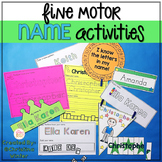 Editable Name Practice – Fine Motor Name Activities