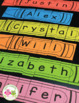Name Activities | Name Practice Editable Crayon Puzzles