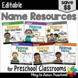 Name Activities Bundle - Editable