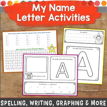 My Name Letter Activities