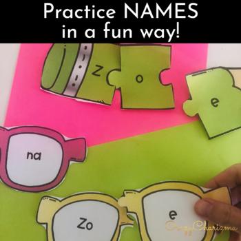 Name Practice Editable Name Activities Kindergarten Preschool