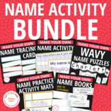 Name Activities Bundle | Name Practice Activities for Preschool and Kindergarten