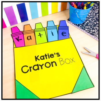Crayon Name Activity - Craft and Puzzle