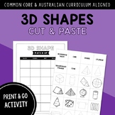 Name, Analyze and Compare 3D Shapes CUT & PASTE