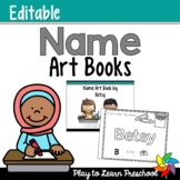 Name Art Books - Editable!