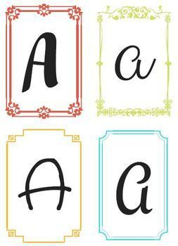 Name Banner (4 x designs / letter)