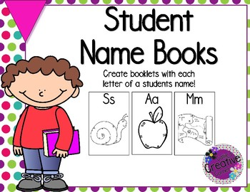 Beginning of the Year - Name Books