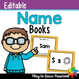Name Books - Editable