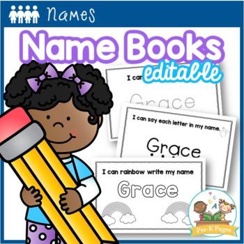 Name Books Editable