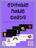 Name Cards (editable)