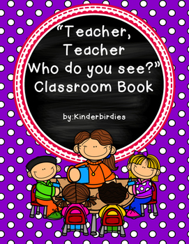 Name Classroom Book - Back To School FREEBIE