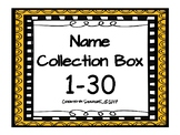 Name Collection Box 1-30