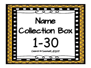 Name Collection Box 1-30