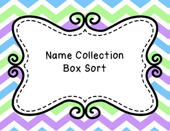 Name Collection Box Sort