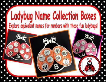Name Collection Boxes - Ladybugs