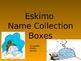 Name Collection Boxes Powerpoint (Eskimo Theme)