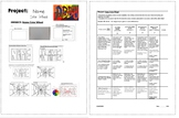 Name Color Wheel guide & Rubric
