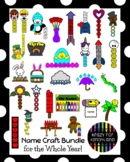 Name Activities with Craft Packs MEGA BUNDLE for Whole Kin