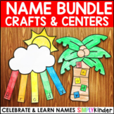 Names - Name Crafts and Centers Bundle