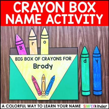 Name Crayon Box (Editable)