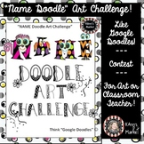 """""""Name Doodle"""" Art Challenge Guidelines and Submission Form"""