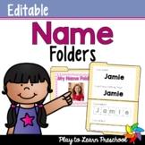 Name Folders - Editable