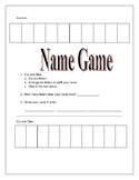 Name Game