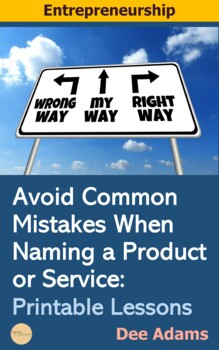 Avoid Common Mistakes When Naming a Product or Service:Printable Lessons