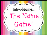 Name Games for Promethean Board