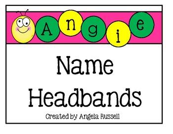 Name Headbands