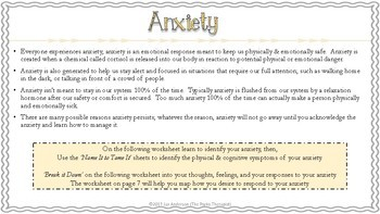 Name It To Tame It....Anxiety Management for Tweens & Teens