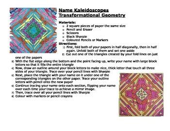 Name Kaleidoscope