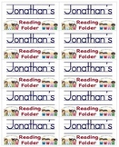 Name Labels for Reading Folders-Type Names