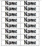 Name Labels for Reading or Math Groups