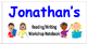 Name Labels for Reading/Writing Wkshp Notebooks-Type in Names - Comic Sans Font