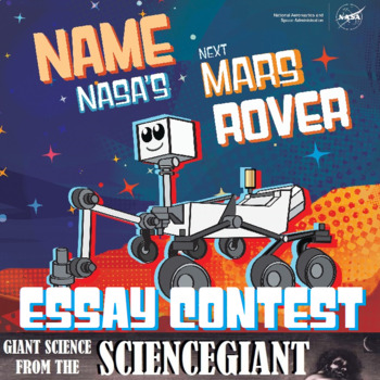 Name NASA's Next Mars Rover Essay Contest by ...