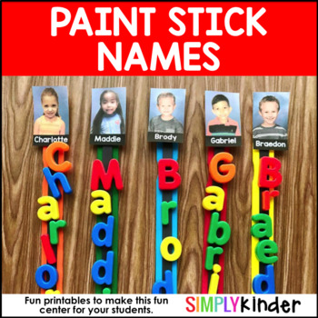 Name Paint Sticks