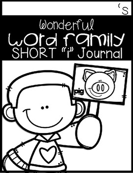 """Wonderful Word Family Short """"i"""""""