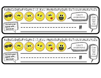 Name Plate Emoji and Student Talk