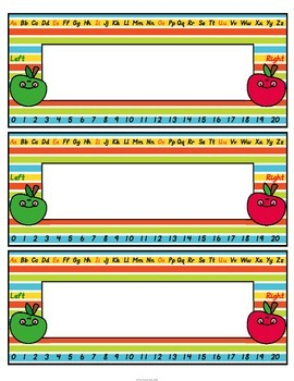 Name Plates Apple