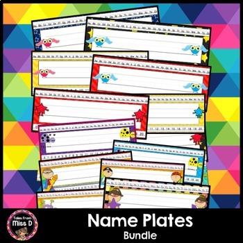 Name Plates Bundle