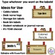 Desk or Cubby Name Plates (Western Themed) Editable in PPT