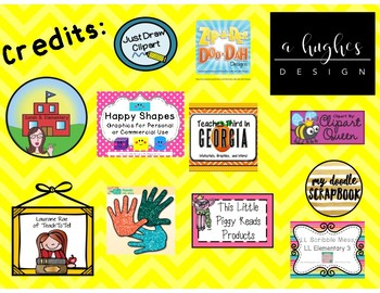 Name Plates For Grades 3-5