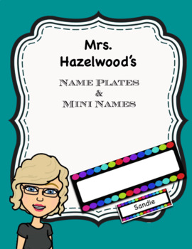 Name Plates & Mini Names Classroom Decoration