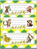 Name Plates - Monkeys