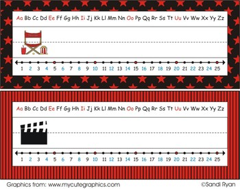 Name Plates - Movies/Movie Star/Hollywood